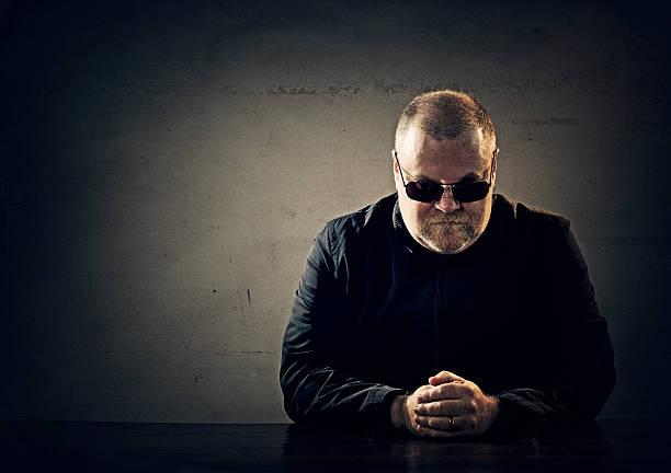 mafia member stock photo