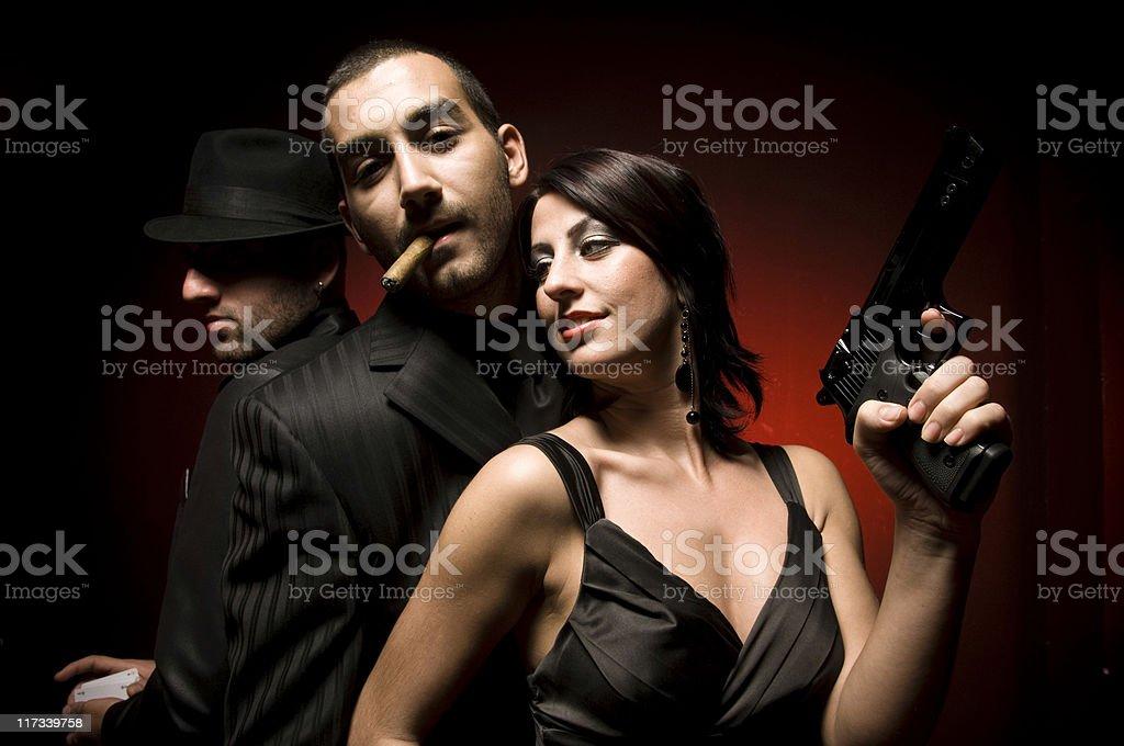 Mafia stock photo