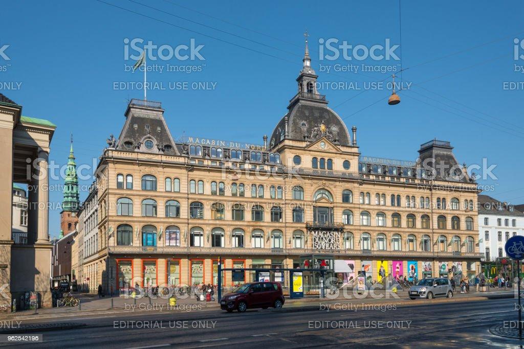 Magasin du Nord - historic shopping center in Copenhagen - Royalty-free Building Exterior Stock Photo