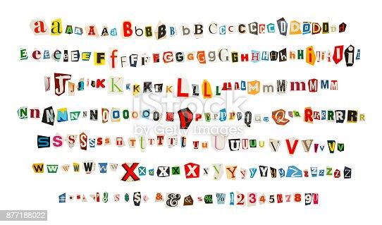 istock Magazine Alphabet 877188022