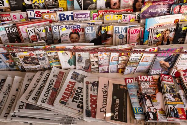 Zeitschriften-und Zeitungskiosk – Foto