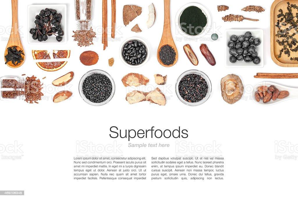 Aliment sur fond blanc - Photo