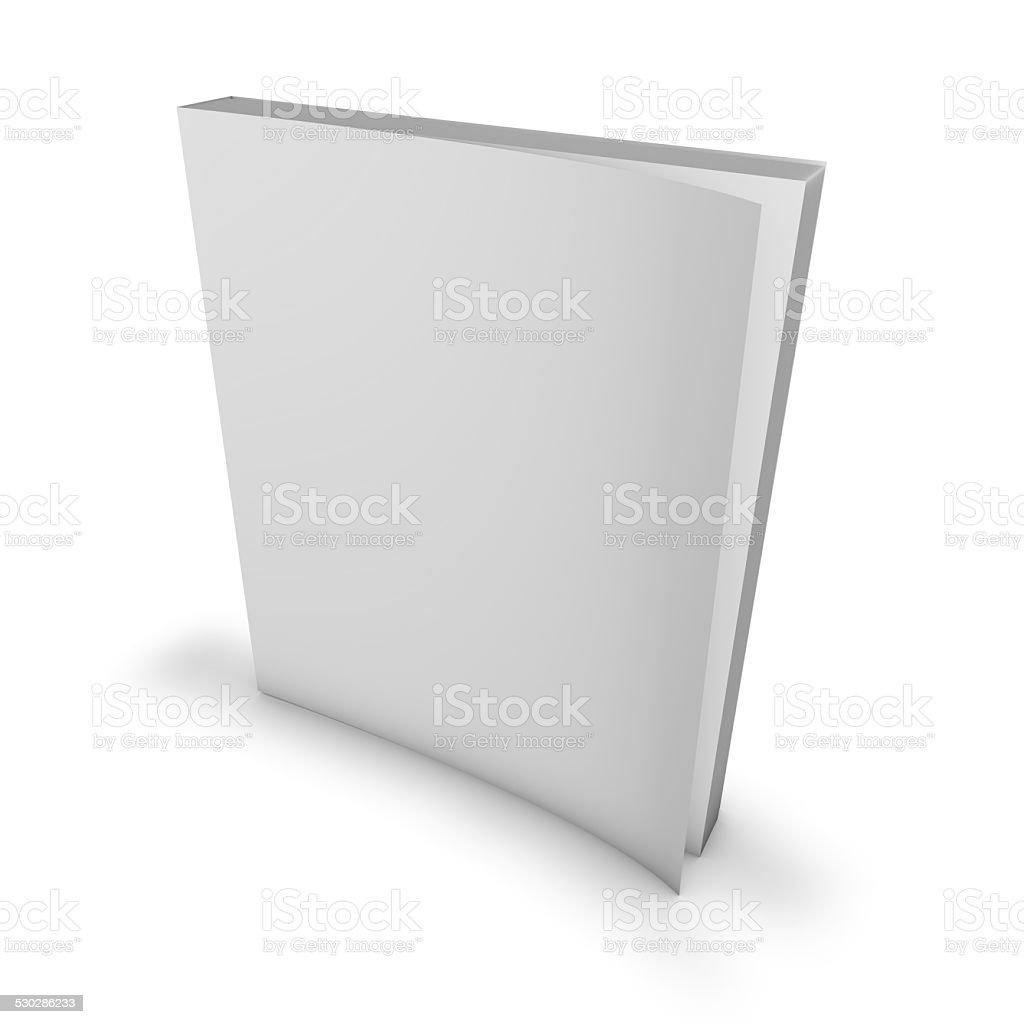 Magazine, catalog blank cover, mock up. stock photo