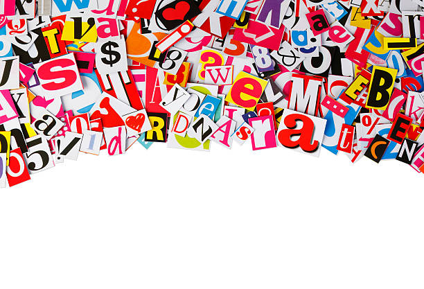 Royalty free background of a magazine cut out font pictures images magazine letters collage stock photo spiritdancerdesigns Choice Image