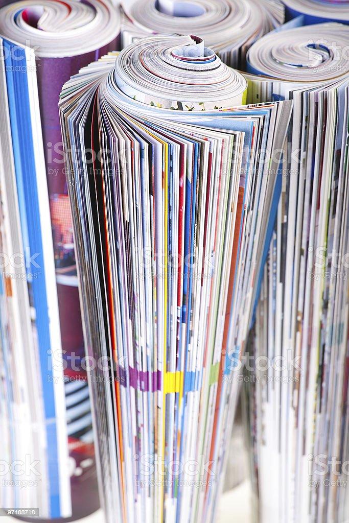 magazine royalty-free stock photo