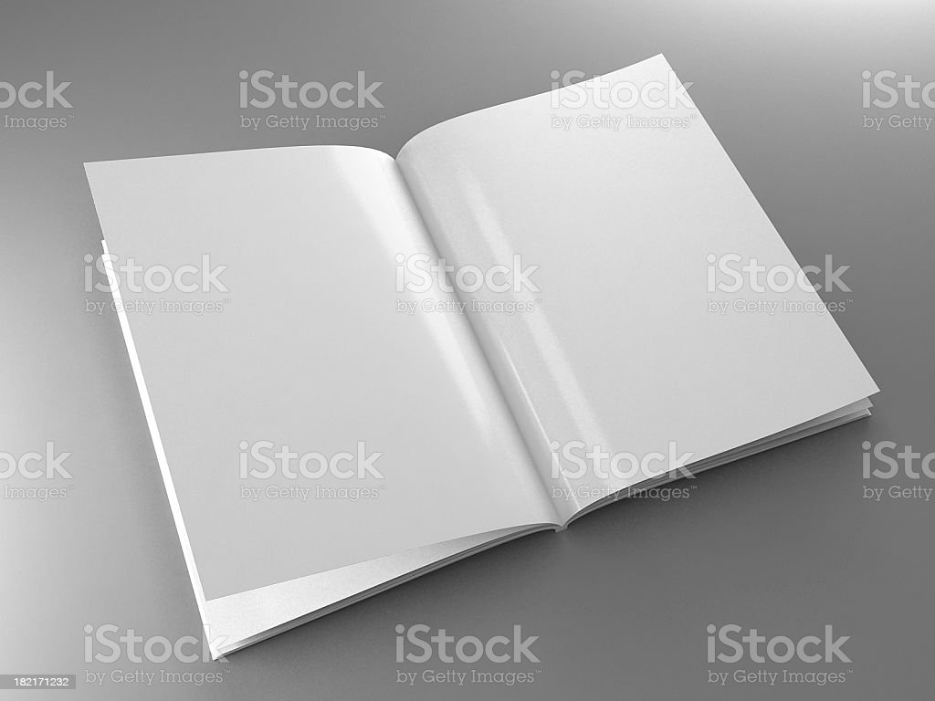 Magazine template royalty-free stock photo