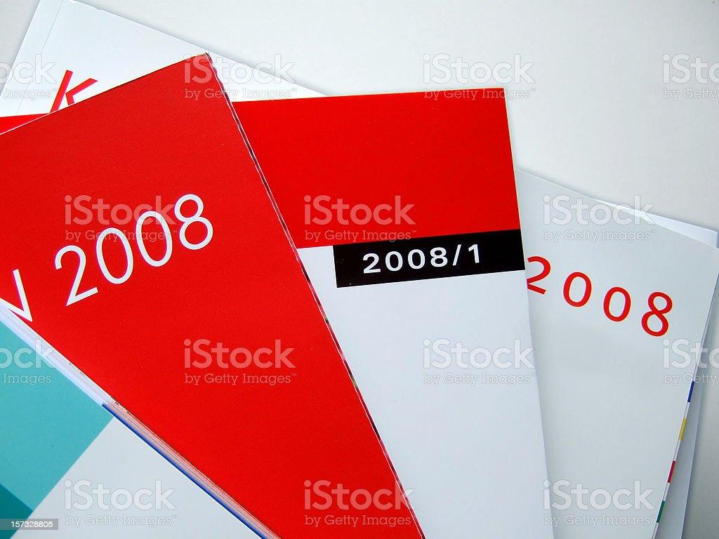 magazines & catalogues royalty-free stock photo