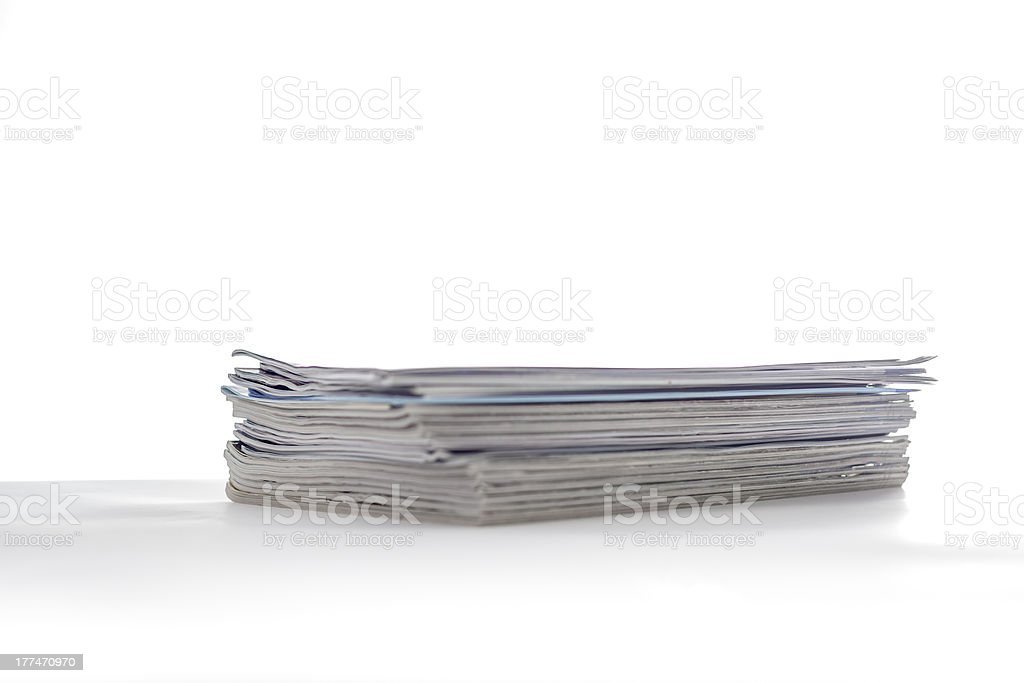Magazines I royalty-free stock photo