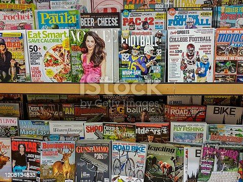 Collection of magazines