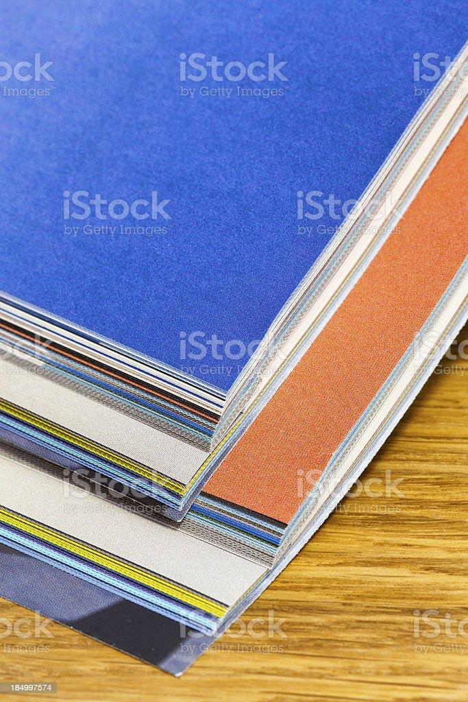 Magazines royalty-free stock photo