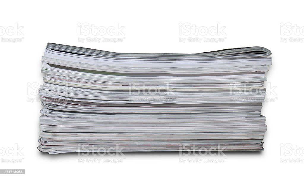 Magazines royalty-free stock photo