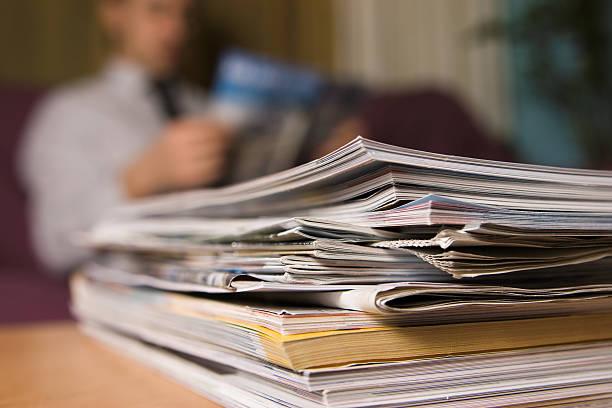 Le riviste - foto stock