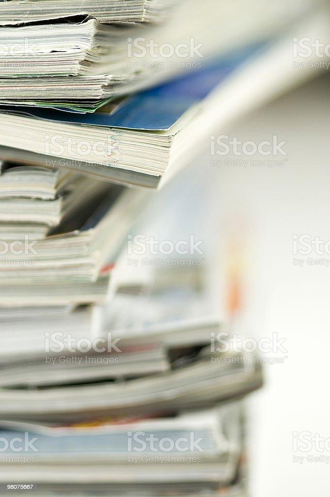 Le riviste foto stock royalty-free