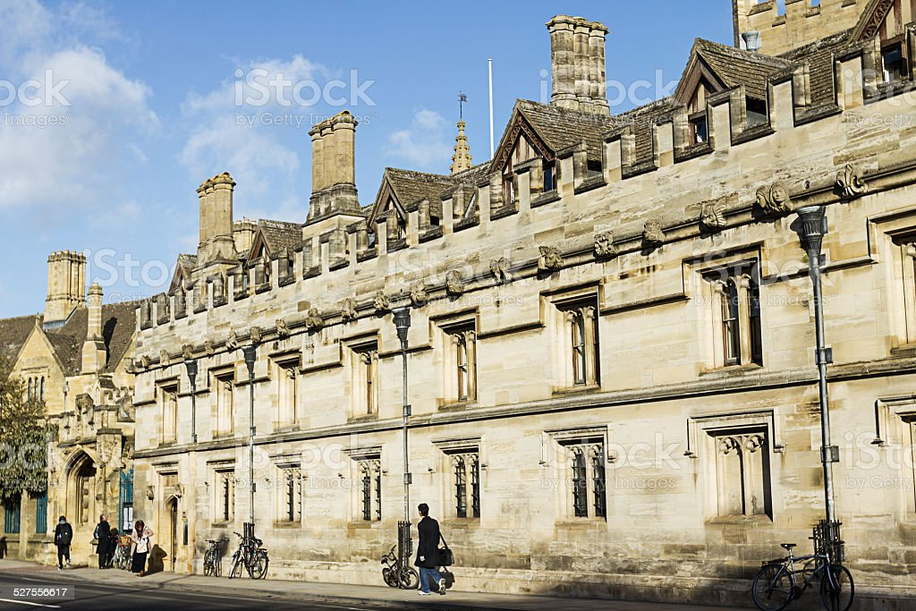 Magdalen College, Oxford stock photo