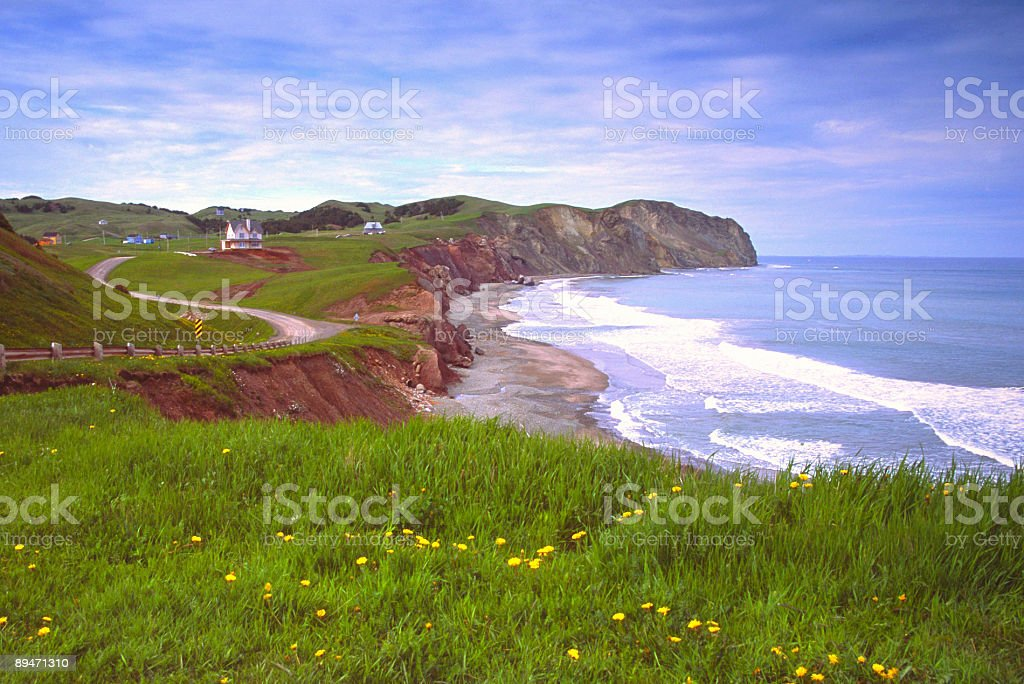 Magdalen Islands royalty-free stock photo