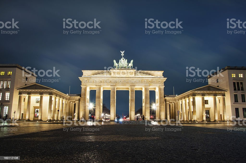 Magdeburg gates royalty-free stock photo