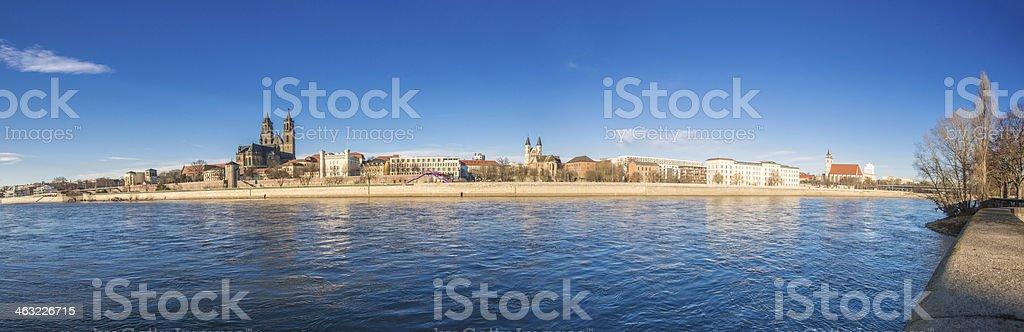 Magdeburg royalty-free stock photo