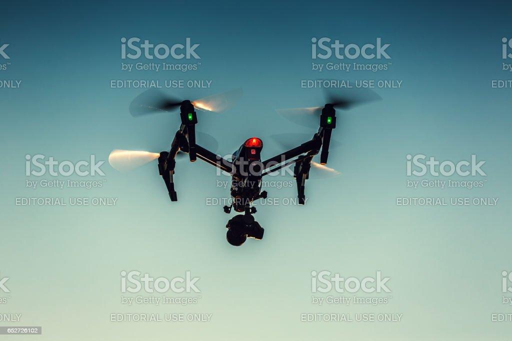 Mage Of Dji Inspire 1 Pro Drone Uav Quadcopter Stock Photo More