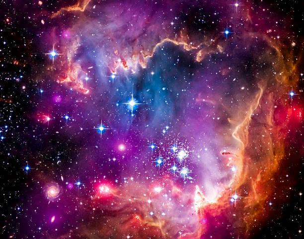 magellanic cloud - galaxie photos et images de collection