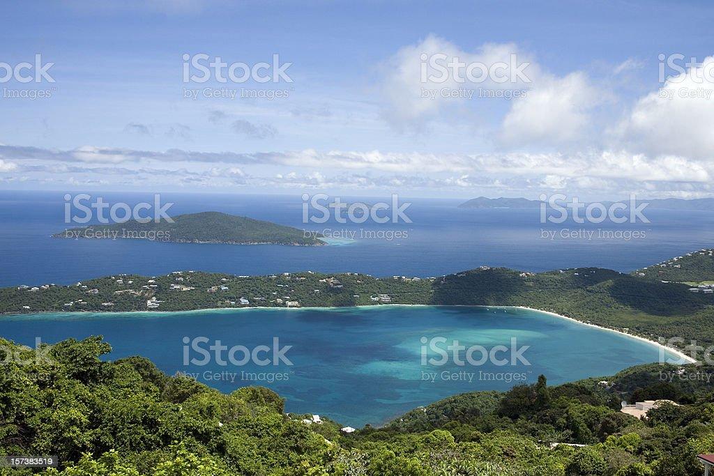 Magens Bay stock photo