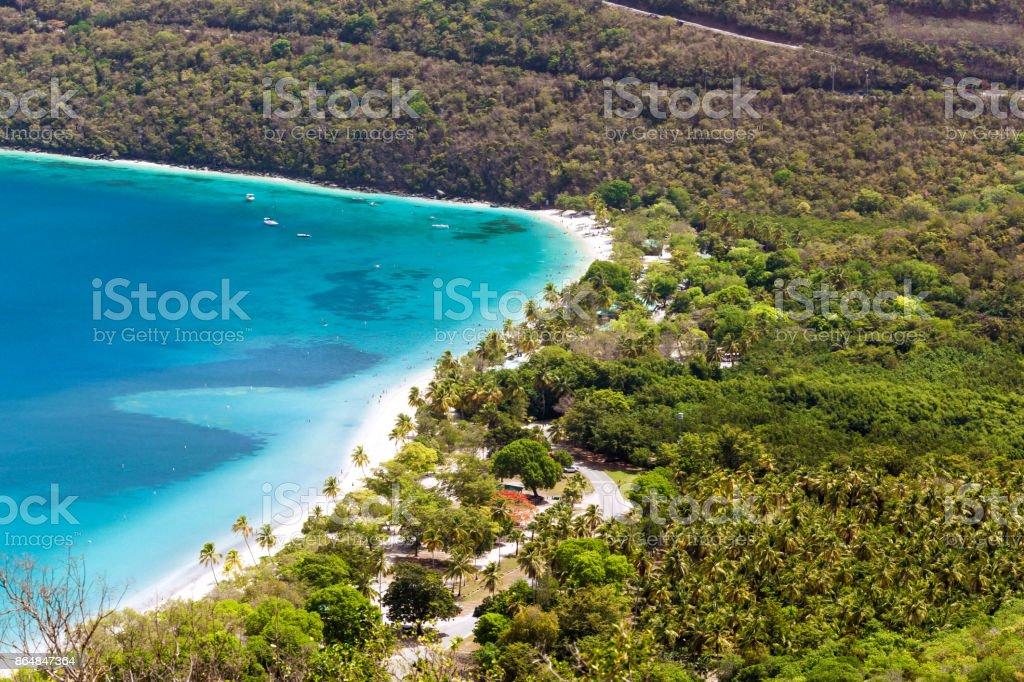 Magens Bay, Saint Thomas, US Virgin Islands stock photo