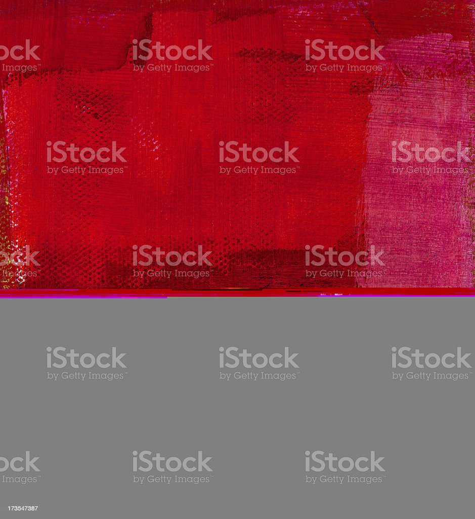 Magenta and Red Abstract stock photo