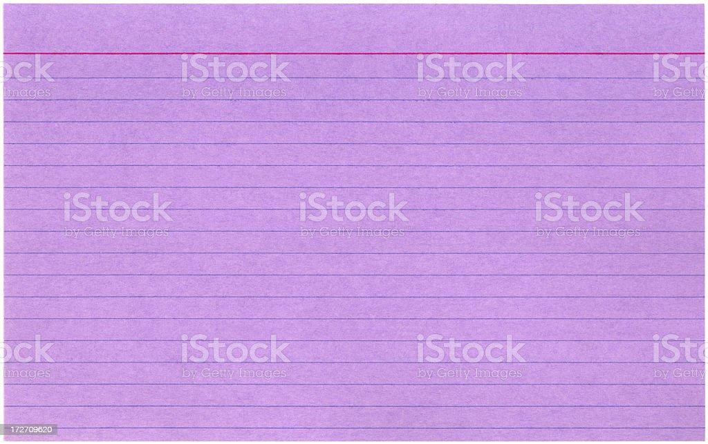 Magenta file card royalty-free stock photo