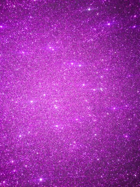 magenta glitter achtergrond - paars stockfoto's en -beelden