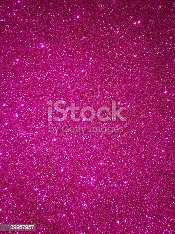 istock Magenta glitter texture and sparkle abstract background 1139957957