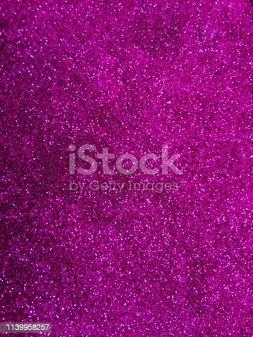 istock Magenta glitter texture and sparkle abstract background 1139958257
