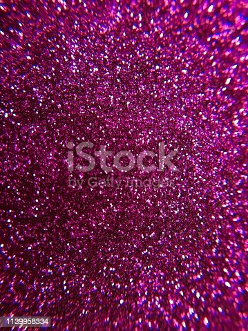 istock Magenta glitter texture and sparkle abstract background 1139958334