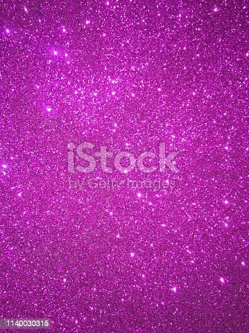 istock Magenta glitter texture and sparkle abstract background 1140030315