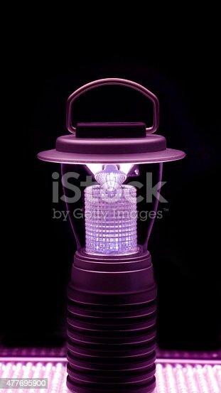 174913696 istock photo magenta led lamp 477695900
