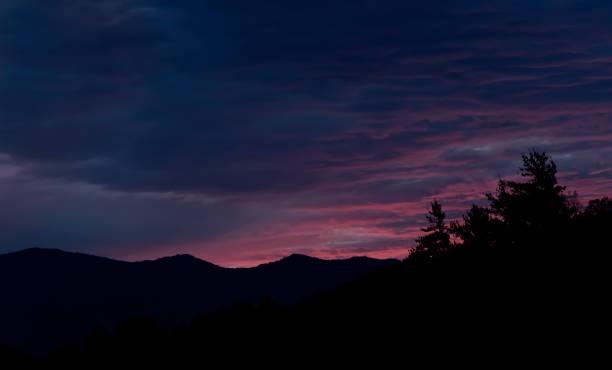 Magenta Sky in North Carolina