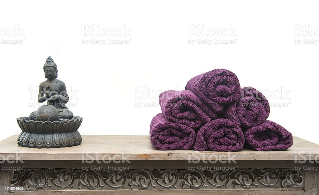 Finest Awesome Affordable Magenta Towels Lila Handtcher With Yoga Statue  Stock Photo With Handtcher Grn With Handtcher With Regal Fr Handtcher
