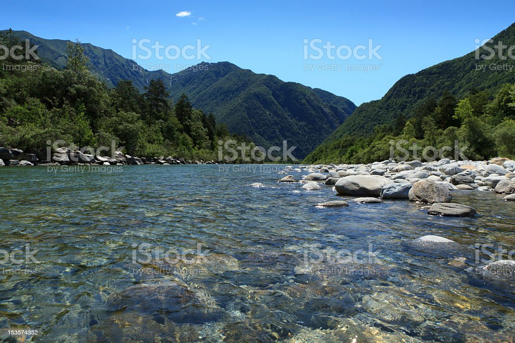 Valle Maggia royalty-free stock photo