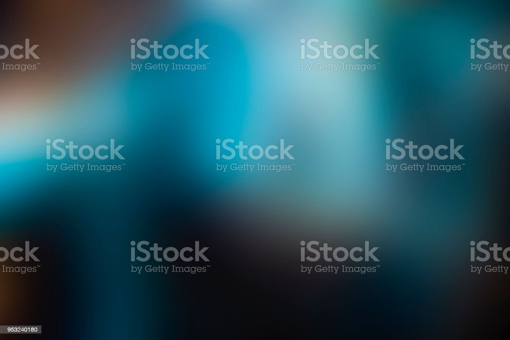 Magic abstract blurred blue background stock photo