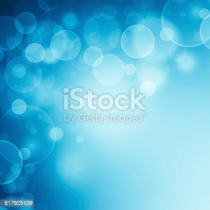 621592540istockphoto Magic blue bubbles and glitters 517925109
