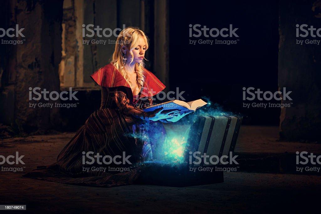 magic book royalty-free stock photo