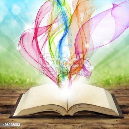 528363897 istock photo magic book 498598993