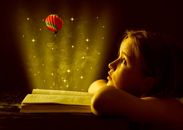 magic book. - fantasy stock photos and pictures