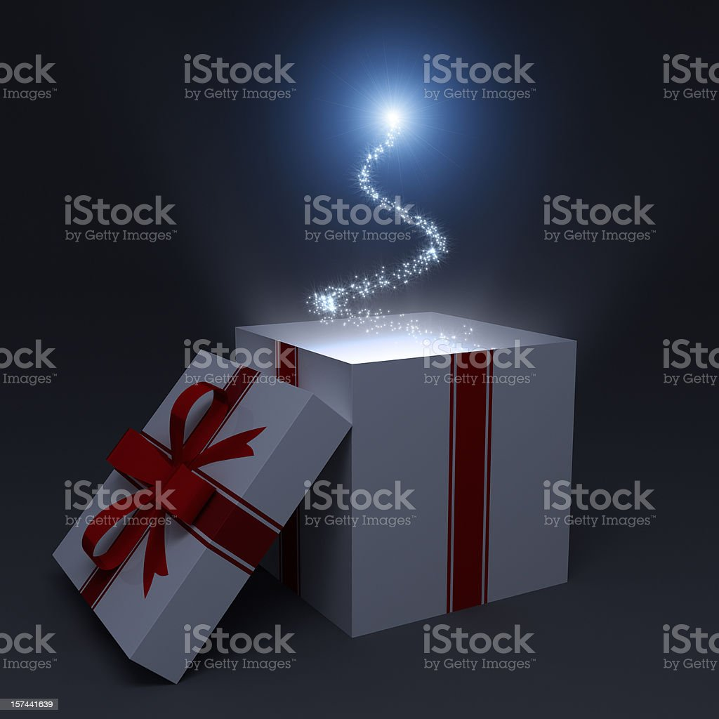 Magic Box stock photo
