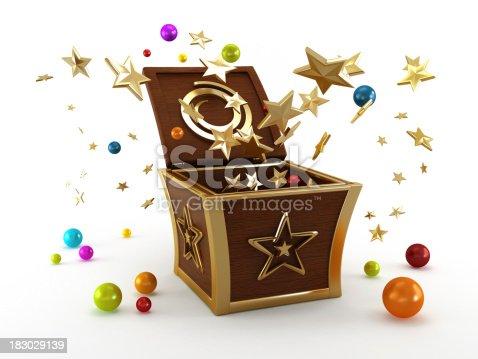 istock Magic box 183029139