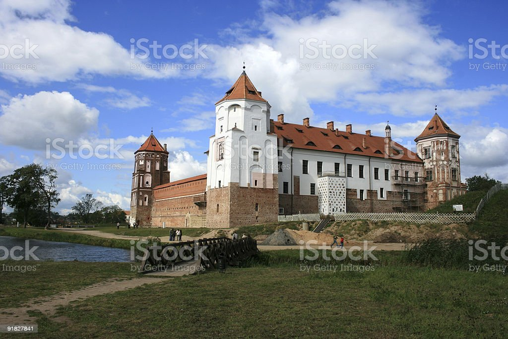 Magic Castle stock photo