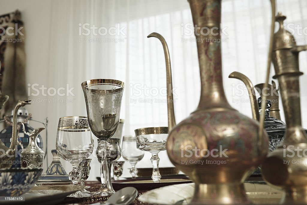 magic dining royalty-free stock photo