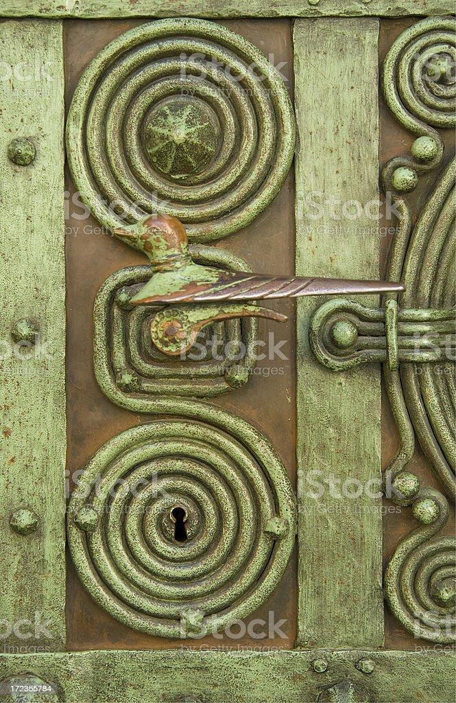magic doorknob royalty-free stock photo