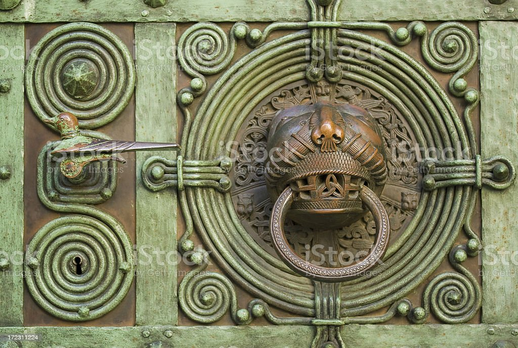 magic doorknocker royalty-free stock photo