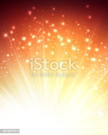 istock Magic festive background 491697874
