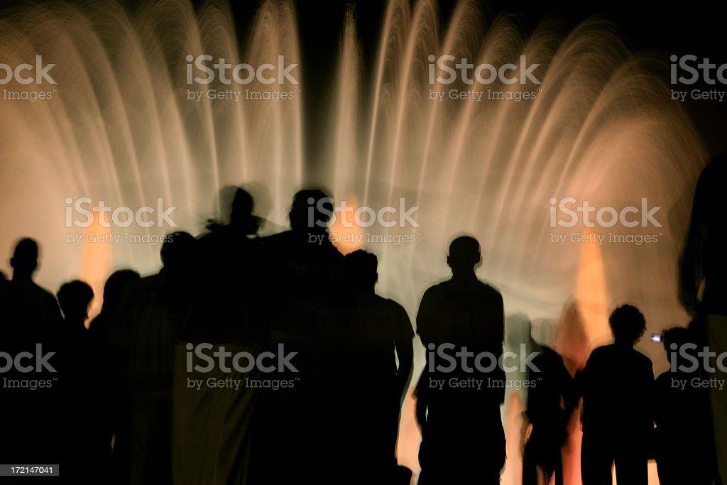 Magic Fountain of Montjuïc' stock photo