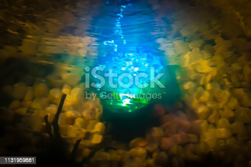 653331540istockphoto Magic glow in the water 1131959881